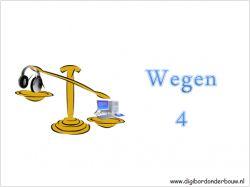 Digibordles Wegen 4 op digibordonderbouw.nl…