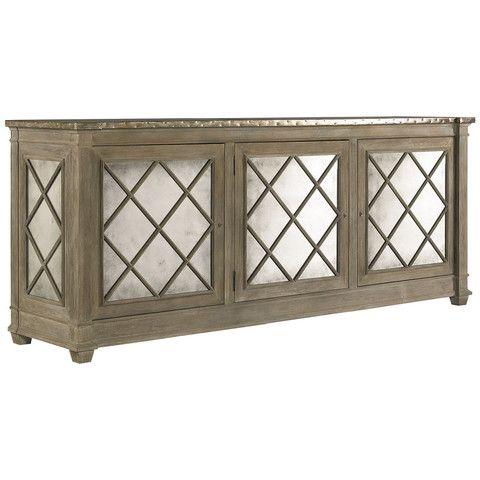 Lillian August Addison Three Door Server LA96053-01 – Benjamin Rugs & Furniture