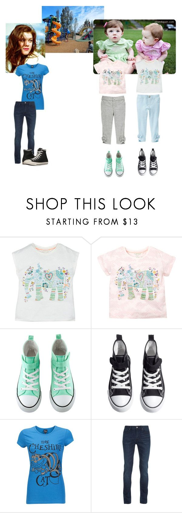"""""""You Weren't Supposed to Find Out"""" by greekmythia ❤ liked on Polyvore featuring Avery, Gymboree, Monsoon, H&M, Silvian Heach, Topman, Converse, jophie and layne"""