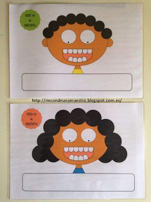 Rincón de una maestra: Pepe y Pepa van al dentista