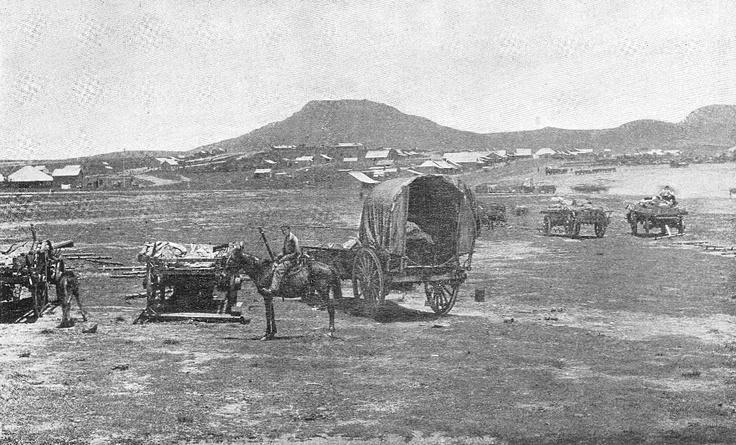 Majuba Hill, where 150 Boer volunteers defeated 600 British soldiers. #war #history