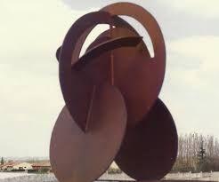 Resultado de imagen de escultura  chapa metal