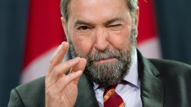 Tom Mulcair's NDP firmly against Northern Gateway pipeline