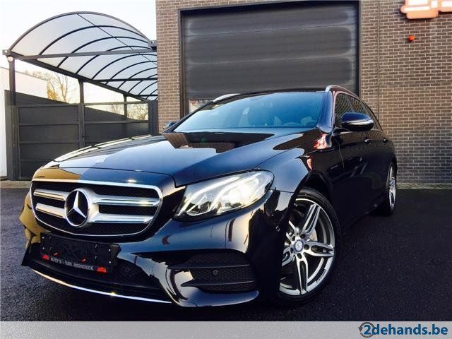Mercedes-Benz, E 220, d Break 9G-Tronic - AMG interieur ... - Te koop