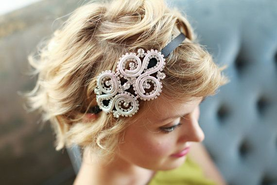 17 Best Ideas About Headband Short Hair On Pinterest