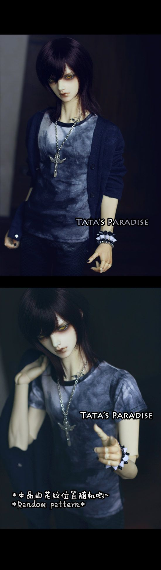 SRT206 Plangi_HOUND/DZ 70/DOI_TA·CLOTHES_TATA'S PARADISE