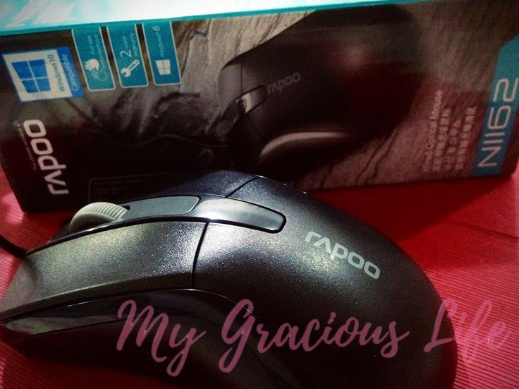New Mouse Test – Rapoo Wired Optical Mouse
