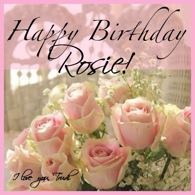 Happy 2nd Birthday Rosie I Hope You Had A Day Filled