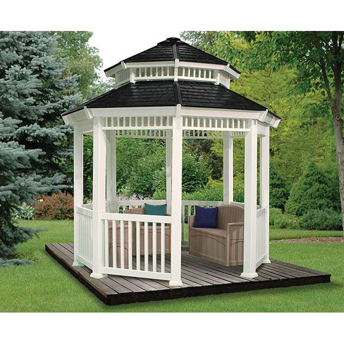 Modern Perfectly Finished Galaxy Gazebos: 25+ Best Ideas About White Gazebo On Pinterest