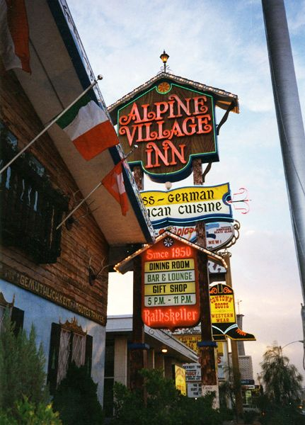 Alpine Village Inn, Las Vegas closed in 1997. I loved it when I was a teenager. Great food and amazing atmosphere.
