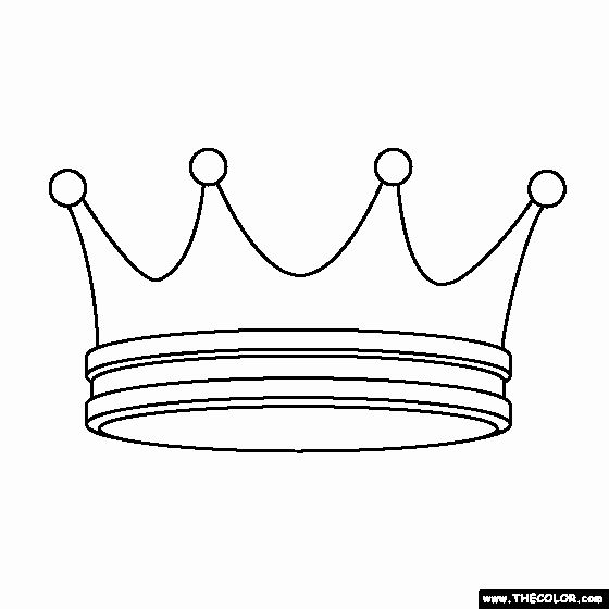 Princess Crown Coloring Page Awesome Prince And Princess Line