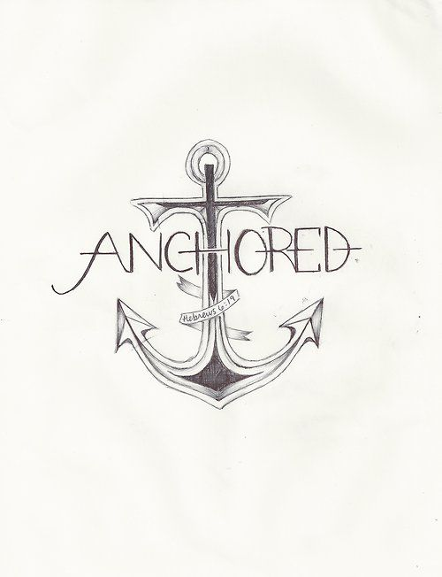 "LOVE THIS ""We have this hope as an anchor for the soul,"