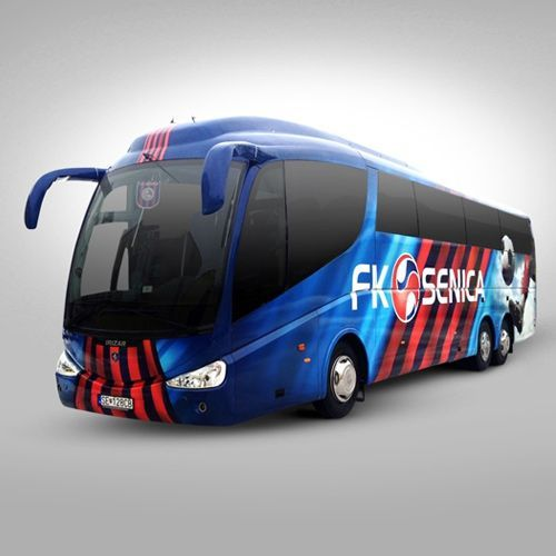 Polep - Autobus FK Senica