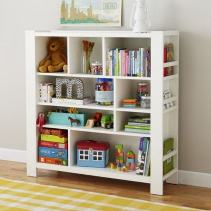 White Bookcase, Colourfull contents