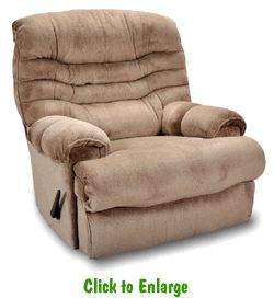 2 Sawyer Beige Rocker Recliners By Franklin At Furniture Warehouse | The  $399 Sofa Store |