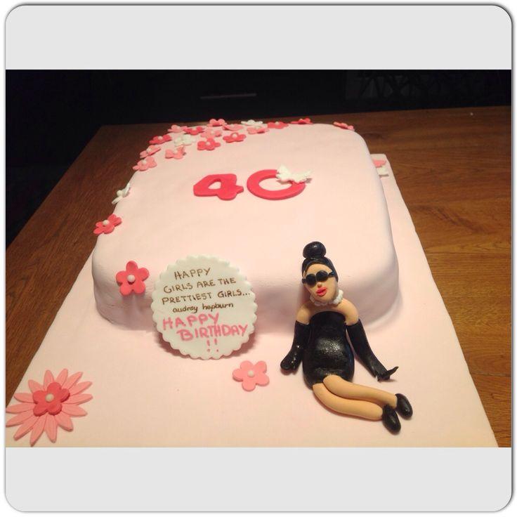 Audrey Hepburn cake