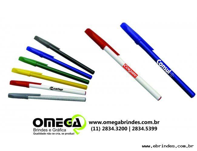 Busca caneta plastica promocional para brindes personalizados em são paulo.