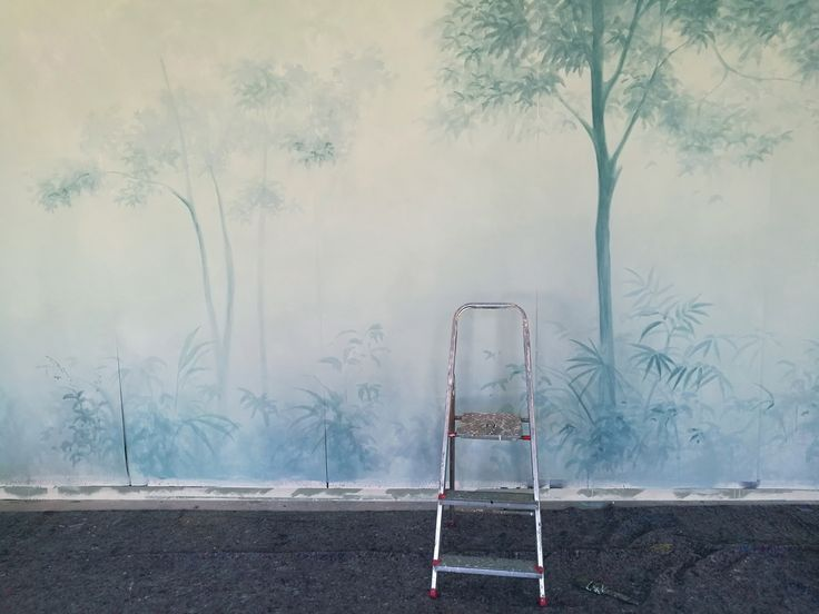 Picta handmade wallpaper - Shadows collection  Work in progress in our lab.