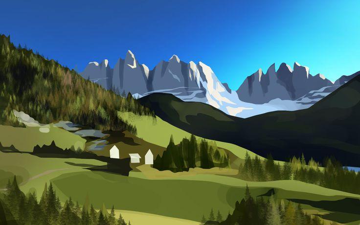 speed painting/Kang Min Jeong/40min./landscape