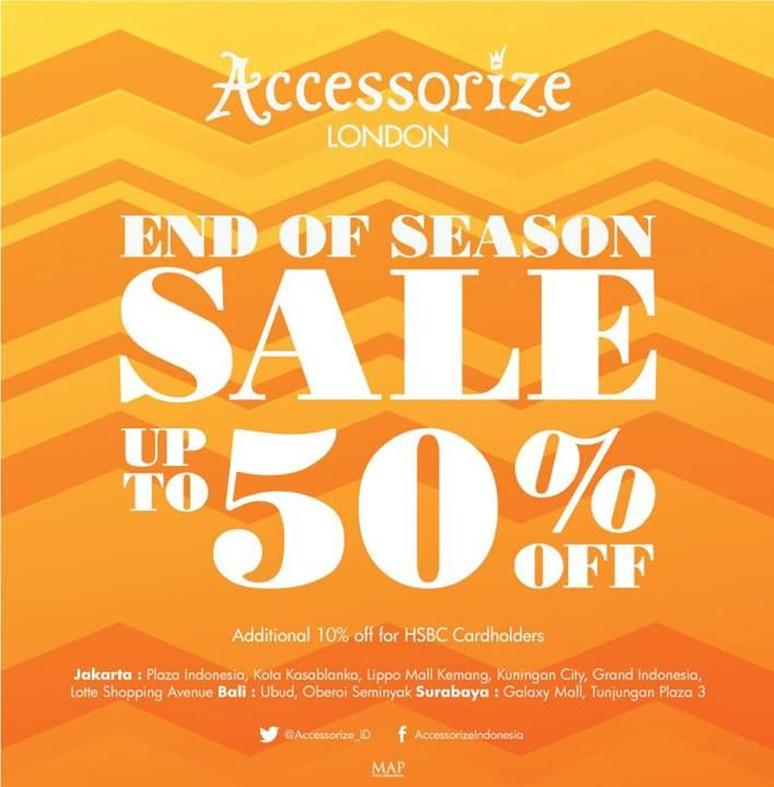 Accessorize SALE continues in store! They've got plenty of style steals that you're guaranteed to love. #AccessorizeSale