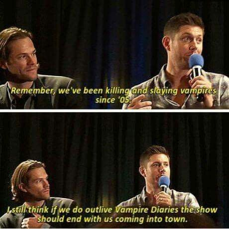 Supernatural It Should End With Them Coming Into Town... Just Think About It