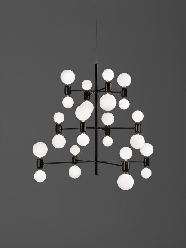 Jaime Hayon's ABALLS lighting  http://design-milk.com/parachilna-launches-lighting-stephen-burk-jaime-hayon/