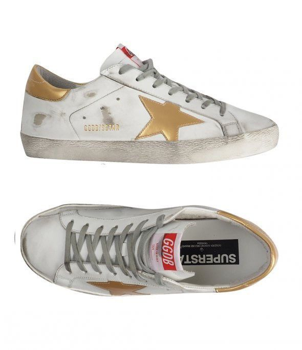 Golden Goose 17 F/W Men's LowTop Superstar Sneakers G31MS590 D15 Deluxe Brand #GoldenGoose #FashionSneakers