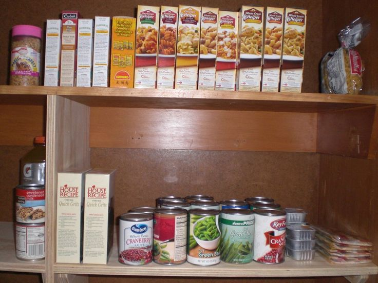 What should be in a student's pantry