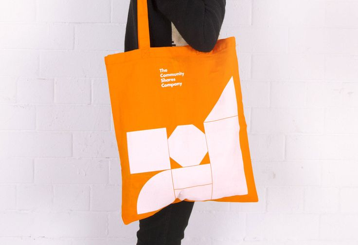 Visual identity for The Community Shares Company designed by Fieldwork.
