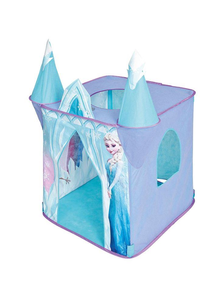 Disney Play Tent & Disney Frozen Castle Play Tent Unboxing ...
