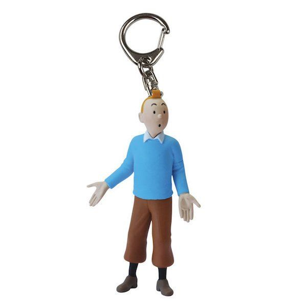 Tintin Blue Pullover Keychain by Moulinsart