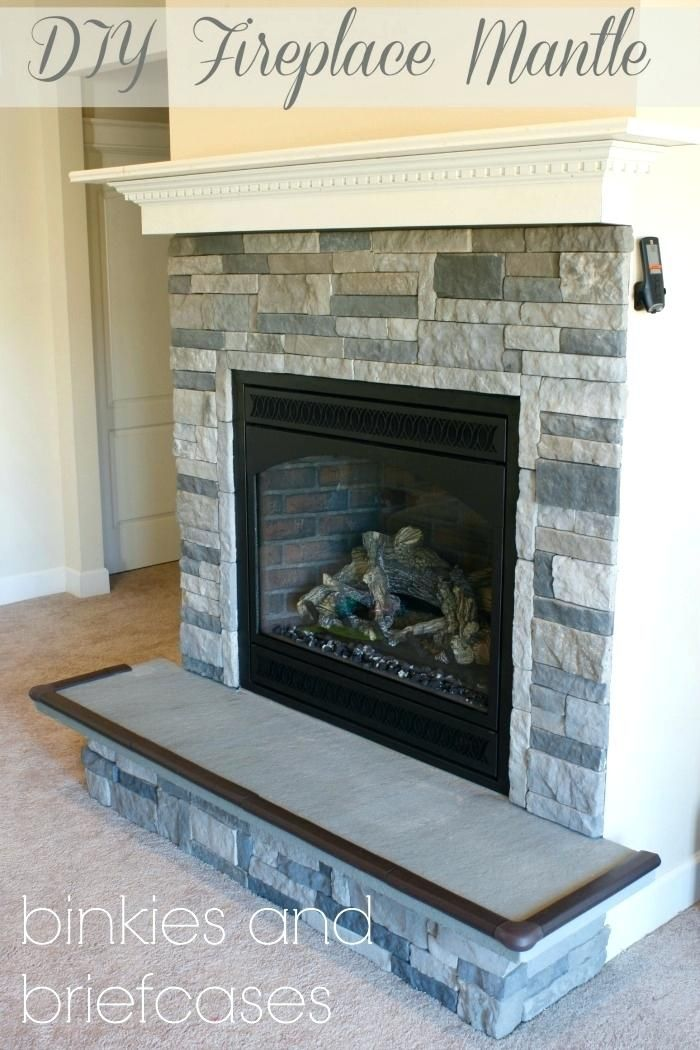 floating fireplace mantel build your own fire place mantle with 5 rh pinterest com Floating Mantel Designs Fireplace Mantel Floating Shelves