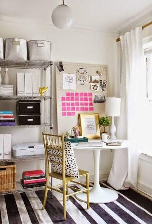 Só Para Meninas | blog feminino por Rafaelli Antes » Arquivos Decoração de home office: 17 ambientes que vão te inspirar - Só Para Meninas | blog feminino por Rafaelli Antes