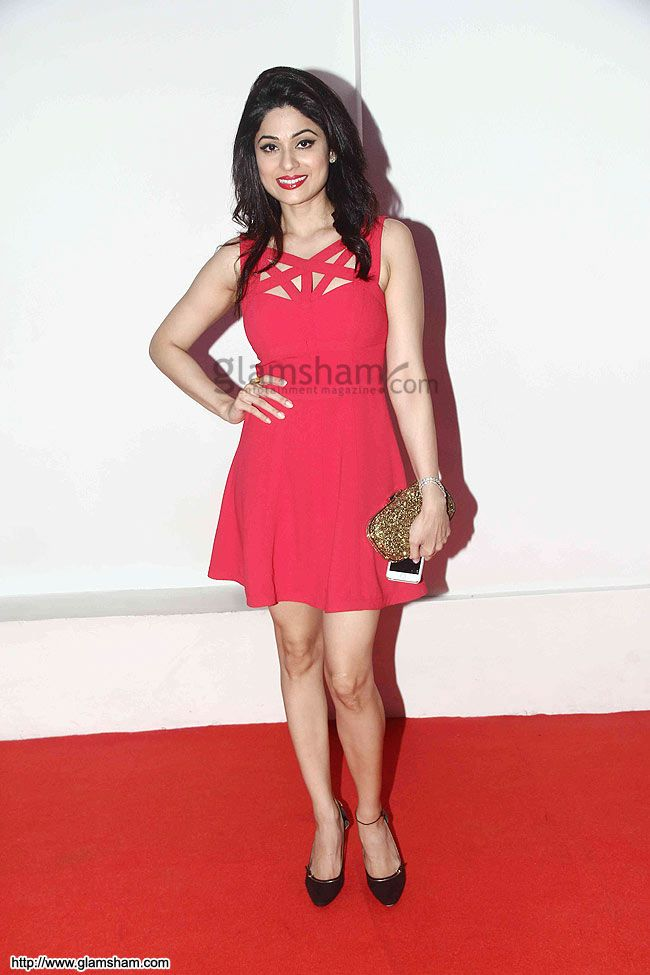 Shamita Shetty In Short Frock at Bollywood Beauties In Hot Short Frocks