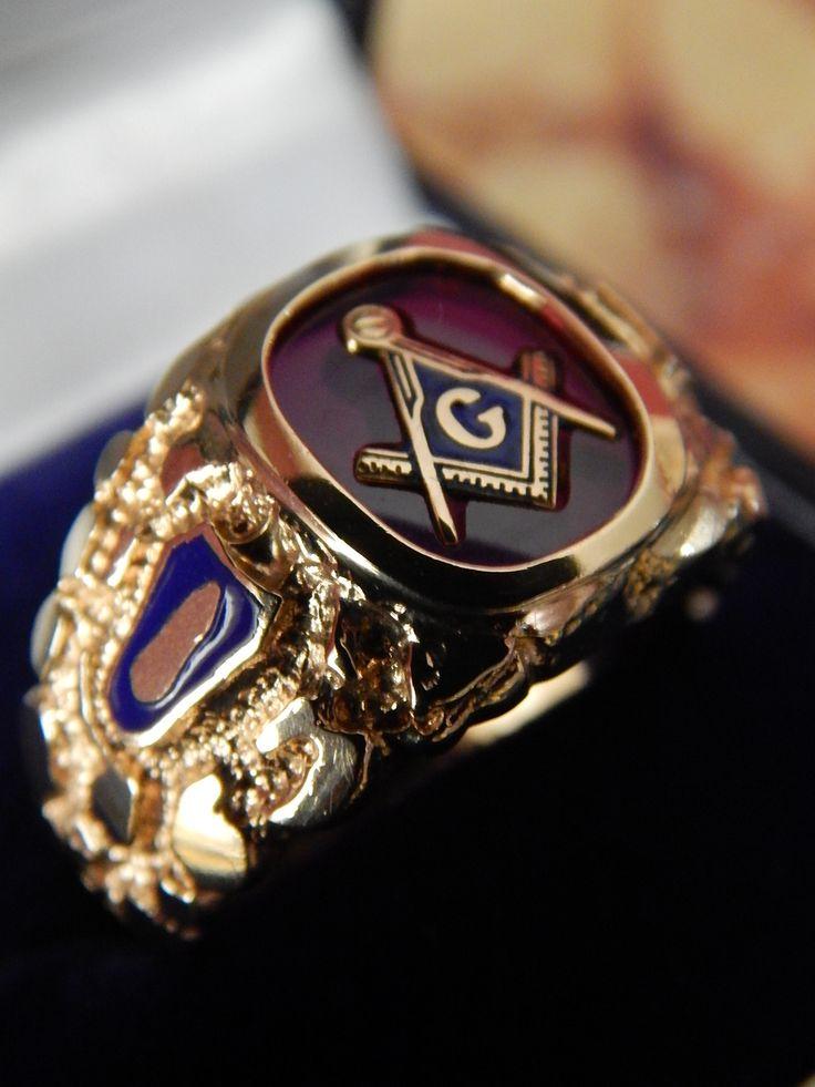 19 best Masonic rings images on Pinterest | Blue stones ...