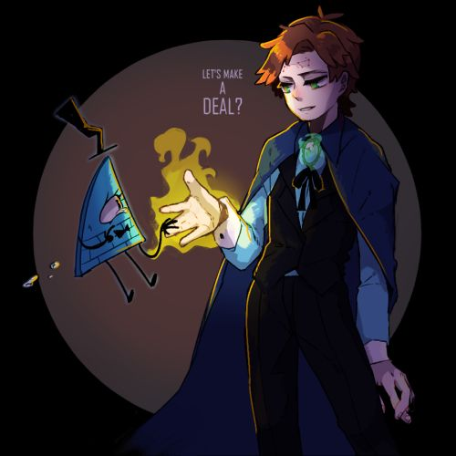 △ Gravity Falls- Reverse Falls △ Will Cipher and Rev!Dipper