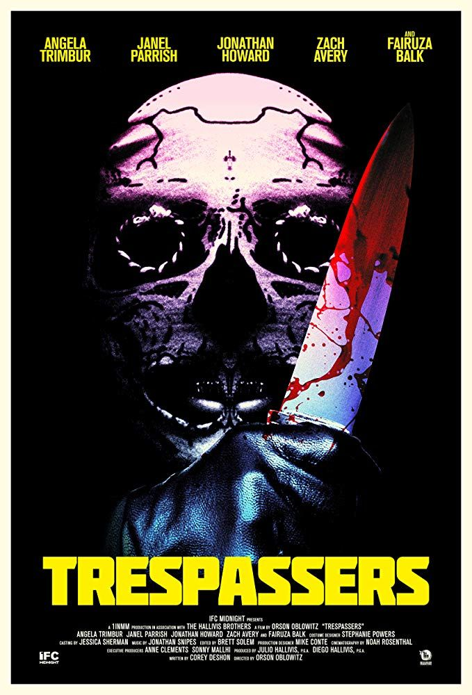 Review Trespassers Midnight Film Horror Movie Posters Janel Parrish