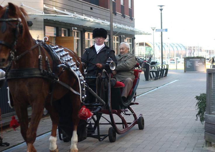 Jaarlijks organiseert WZH Leilinde in december een wonderlijke wintermiddag, geheel in Dickensstijl. Dit jaar konden cliënten o.a. en ritje maken in de arrenslee.