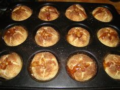 "Almás ""lepény"" muffin recept"