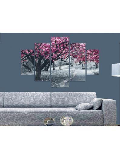 Venta privada Cuadro de 5 piezas Paisaje Deco Wall