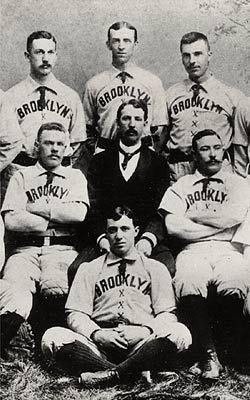 ブルックリン(ナショナルリーグ)のメンバー、ネクタイを着用1890