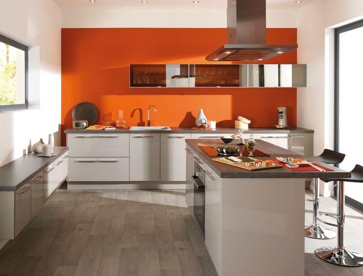 deco cuisine orange couleur cuisine cuisine blanche cuisine conforama conforama 2012 stores cuisine decoration maison ides cuisine cuisine club - Cuisine Couleur Rouge Brique