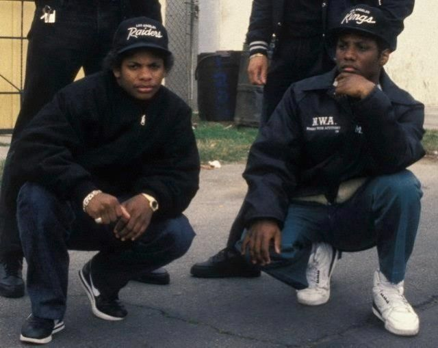 Eazy E and MC Ren | Candid Hip Hop Photos | Pinterest