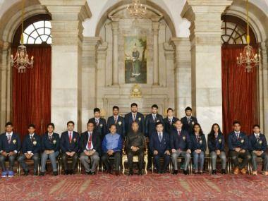 National Sports Day: President Ram Nath Kovind awards Rajiv Gandhi Khel Ratna to Sardar Singh Devendra Jhajharia