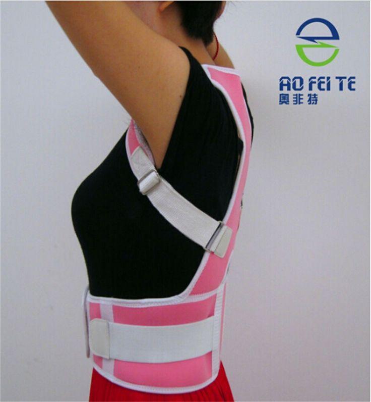 Adjustable Shoulder Back Brace Belt Support Posture Corrector Support Brace Women & Men Lumbar Lower Back Waist Support 2XL