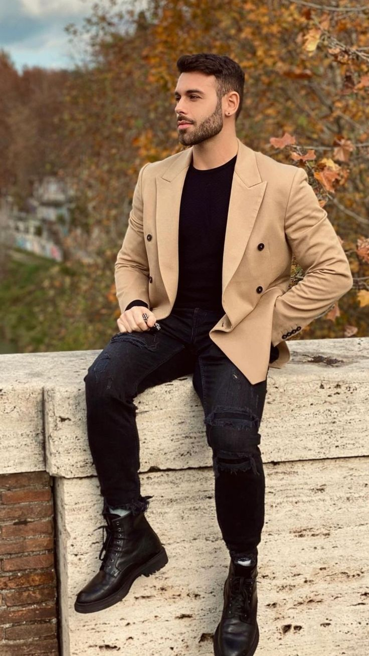 Pin by Justlifestyle on Men's fashion.⌚ | Fashion, Fall vibes, How to wear