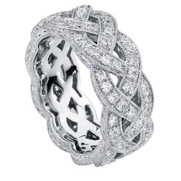 Beverley K Wide Bands for Women are Delightfully Extravagant