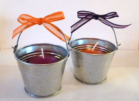 DIY Favors – Mini Bucket Candle « Wedding Ideas, Top Wedding Blog's, Wedding Trends 2014 – David Tutera's It's a Bride's Life