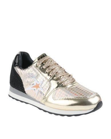 Soviet Coco Sneakers Gold