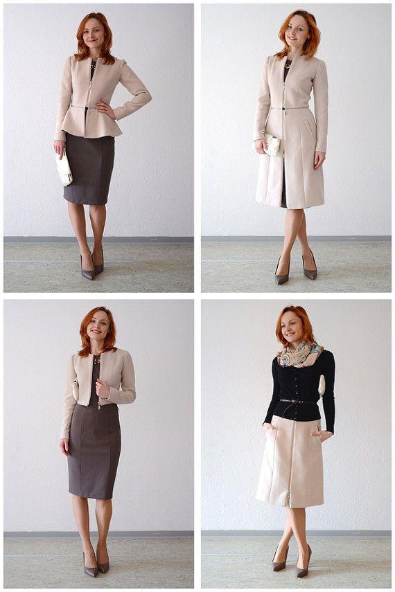 Sewing Patterns  Coat Patterns  Jacket от DressyTalkPatterns